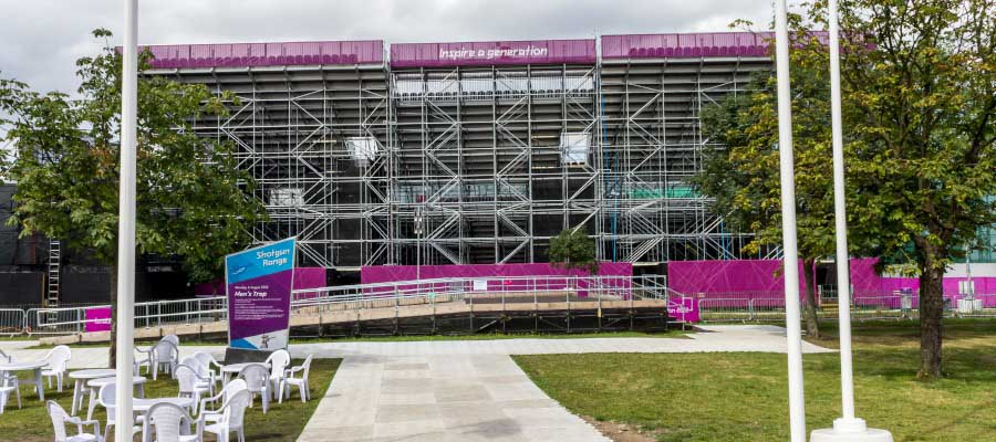 Olympics and Athletics Temporary Outdoor Stadium Construction