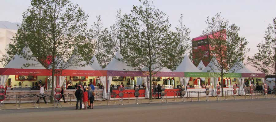 Olympics and Athletics Temporary Retail Structures