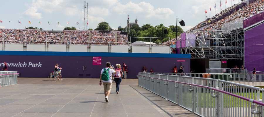 Olympics and Athletics Temporary Outdoor Stadium Seats