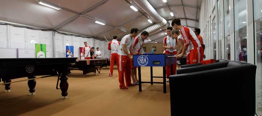 Olympics and Athletics Temporary Structure Modular Accommodation Athletes Village