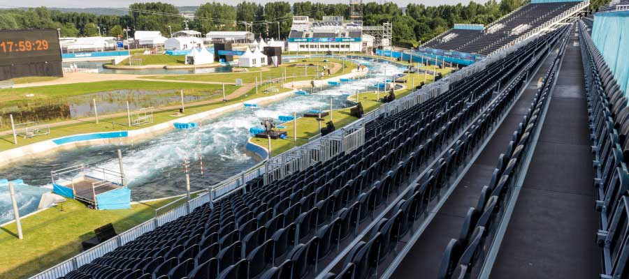 Olympics and Athletics Tiered Spectator Seating Grandstand
