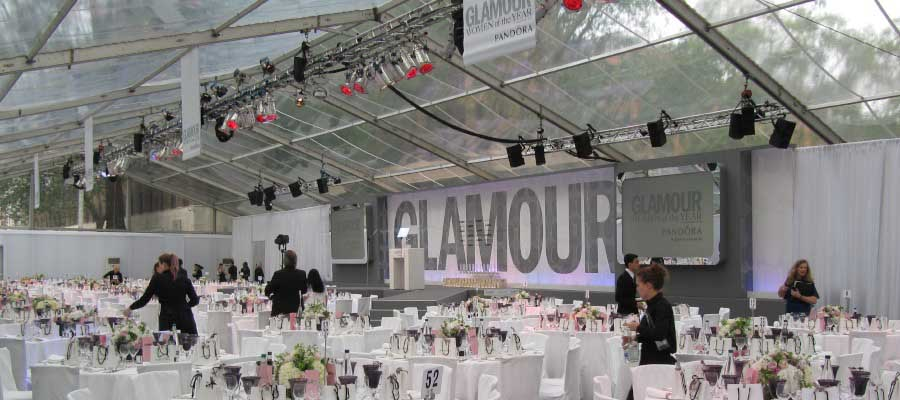 Parties and Celebrations Corporate Themed Dinner Temporary Event Structure