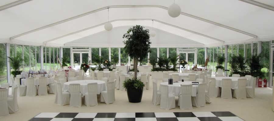 Parties and Celebrations Dining Dancefloor Marquee