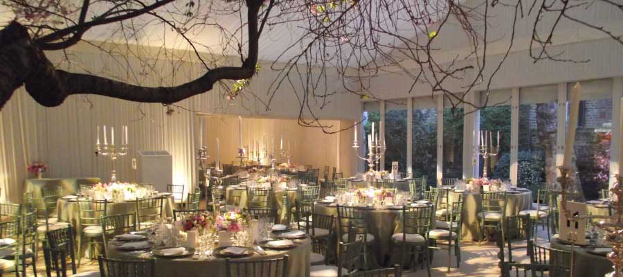 Parties and Celebrations Exclusive Private Garden Premium Marquee