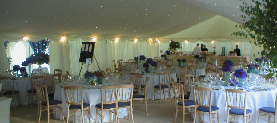 Parties and Celebrations Marquee