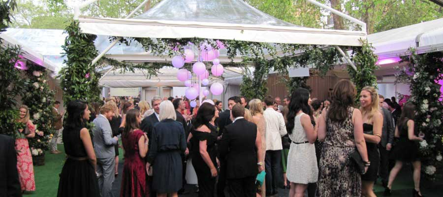 Parties and Celebrations Outdoor Venue Temporary Structure