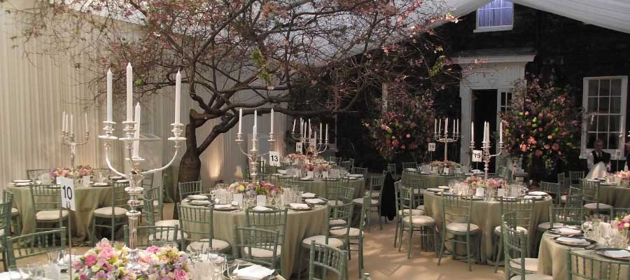Parties and Celebrations Temporary Bespoke Garden Event Structure Marquee