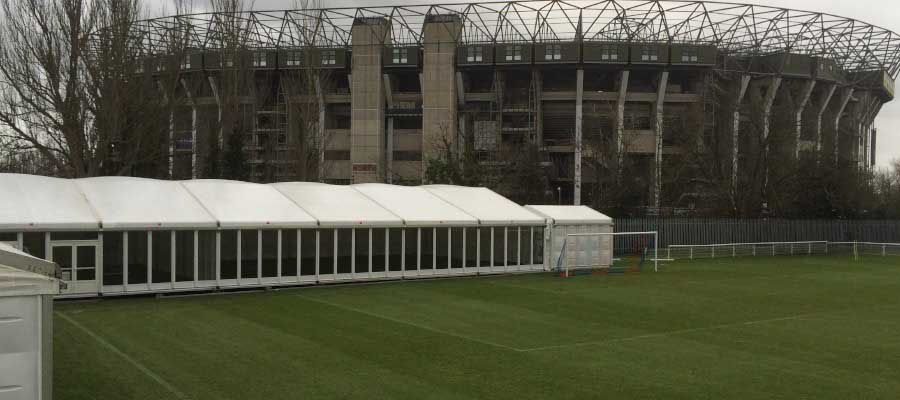 Rugby Temporary Structure
