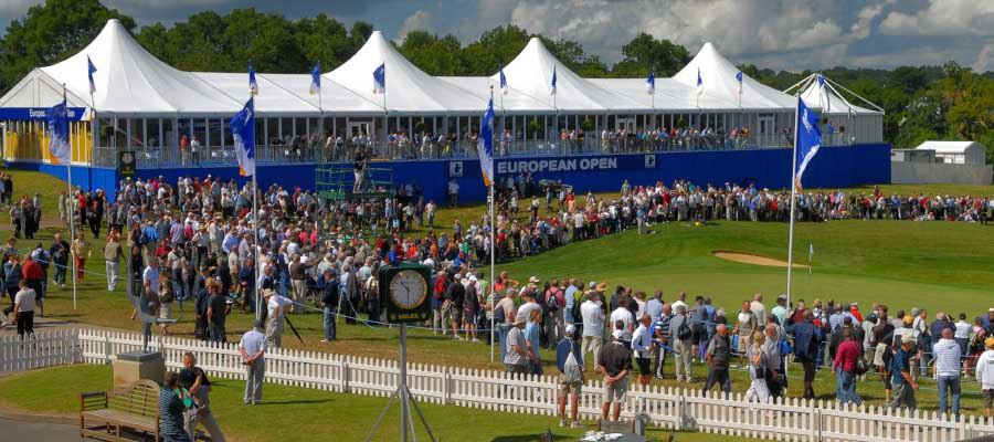 Sporting Events Golf Branded Hospitality Structure