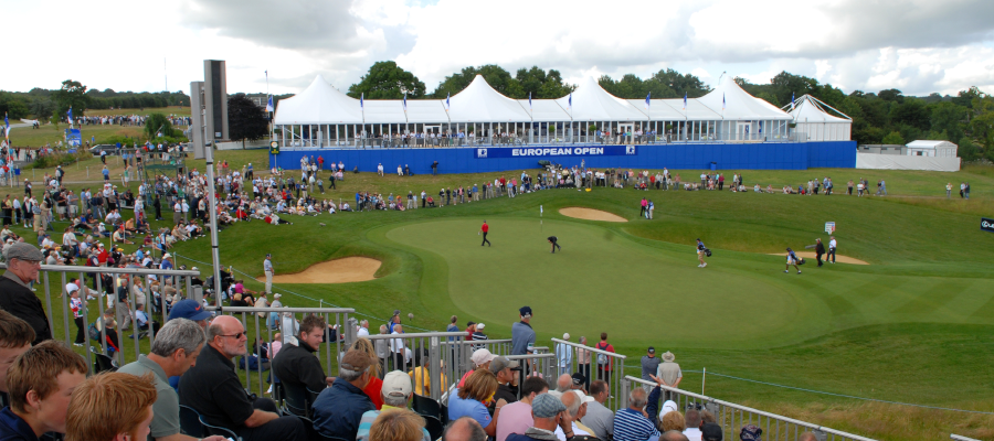 Sporting Events Golf Hostitality Temporary Structure Tiered Seating