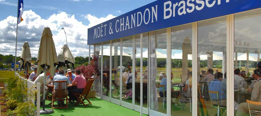 Sporting Events Golf Hostitality Temporary Structure