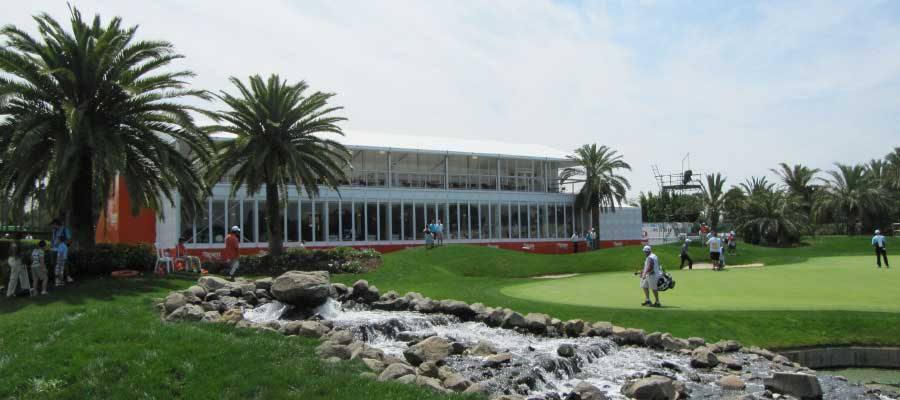 Sporting Events Golf Multi Deck Temporary Structure