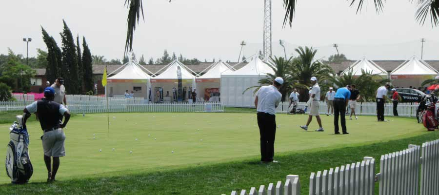 Sporting Events Golf Pagoda