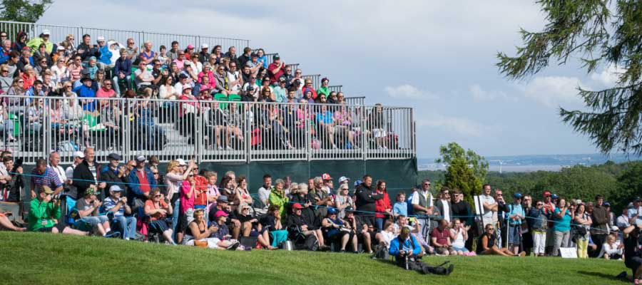 Sporting Events Golf Tournament Tiered Seating