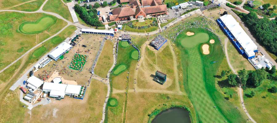 Sporting Events Golf Temporary Event Village