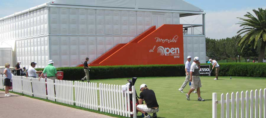 Sporting Events Golf Temporary Structure