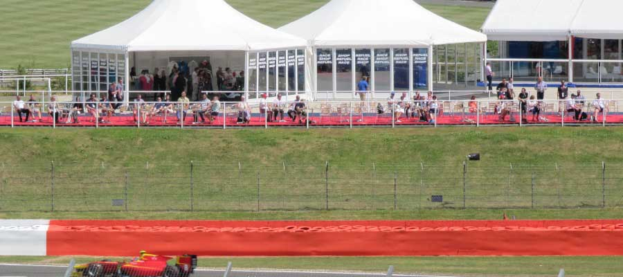 Sporting Events Motorsport Hospitality Pagoda