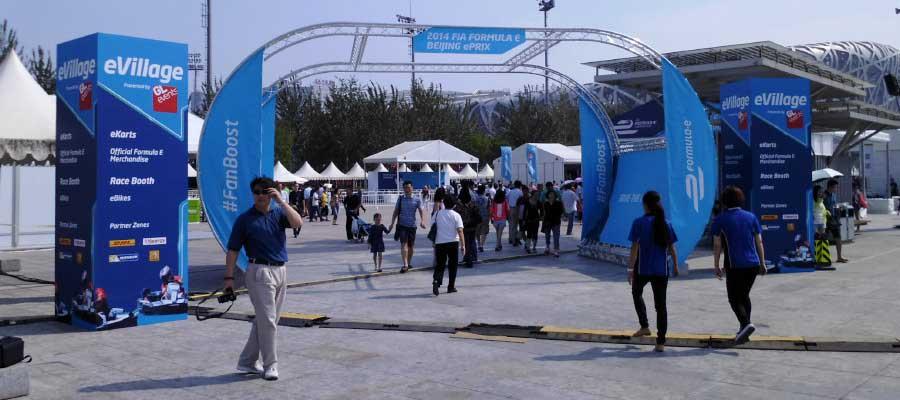 Sporting Events Motorsport Merchandise Village Temporary Event Infrastructure