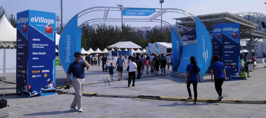 Sporting Events Motorsport Merchandise Village Temporary Event Infrastructure