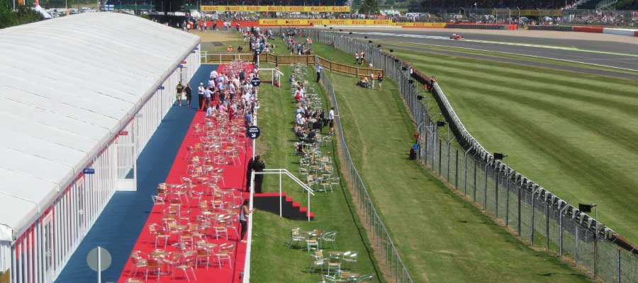 Sporting Events Motorsport Temporary Hospitality Structure