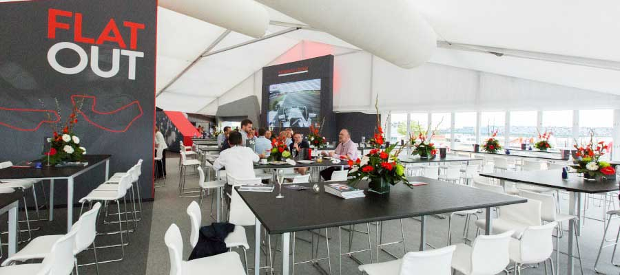 Sporting Events Motorsport Temporary Structure Hospitality