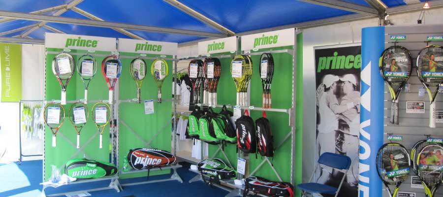 Tennis Retail Marquee Temporary Shop
