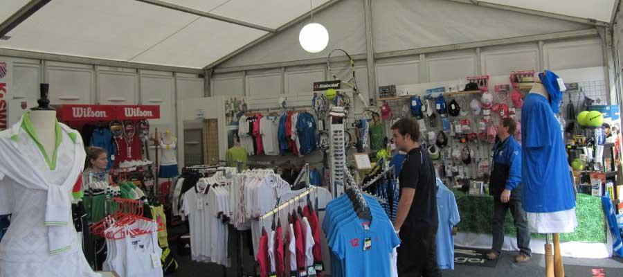 Tennis Temporary Retail Unit Shop