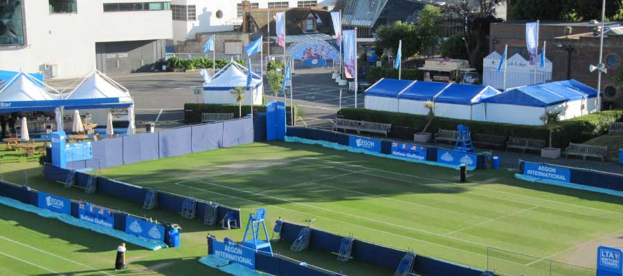 Tennis Temporary Event Structure