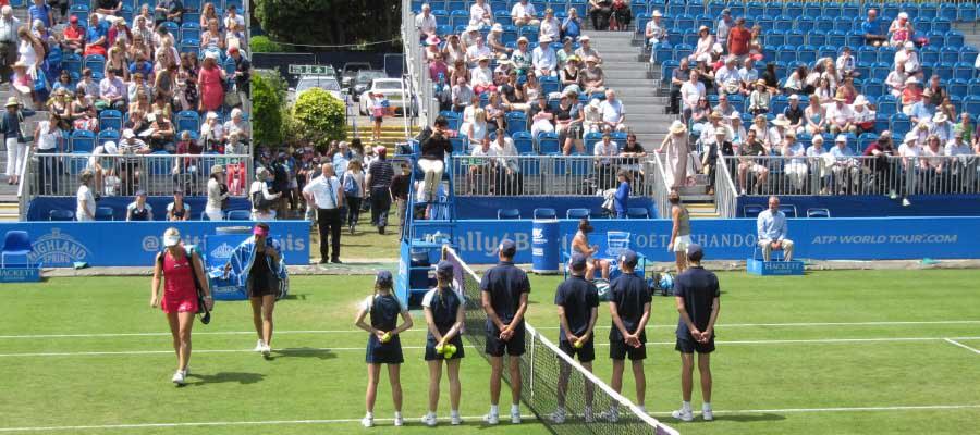 Tennis Temporary Spectator Seating