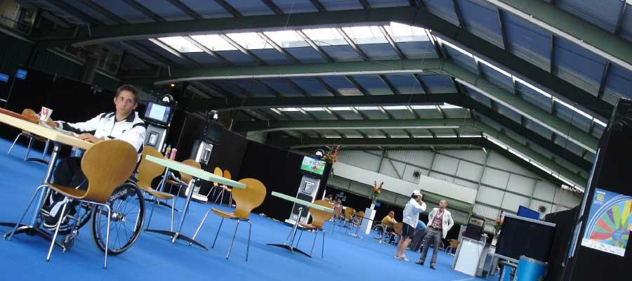 Tennis Temporary Structure Athletes Village