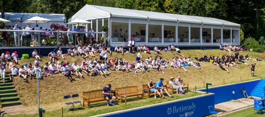 Tennis Temporary Structure Hospitality