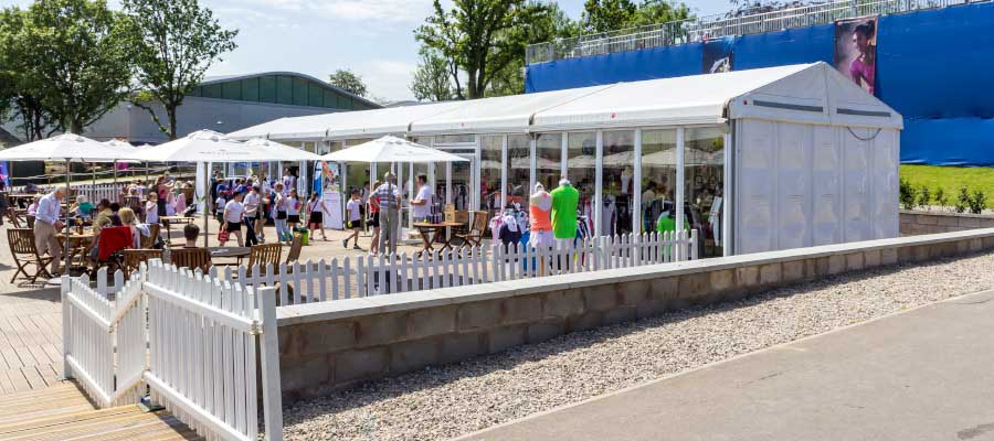 Tennis Temporary Structure