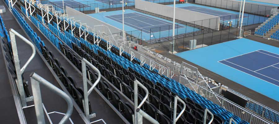 Tennis Temporary Tiered Seating