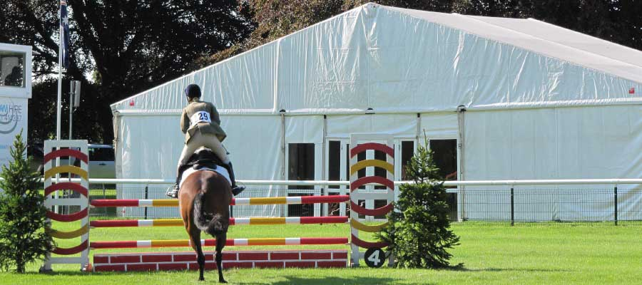 Horse Racing and Equestrian Marquee