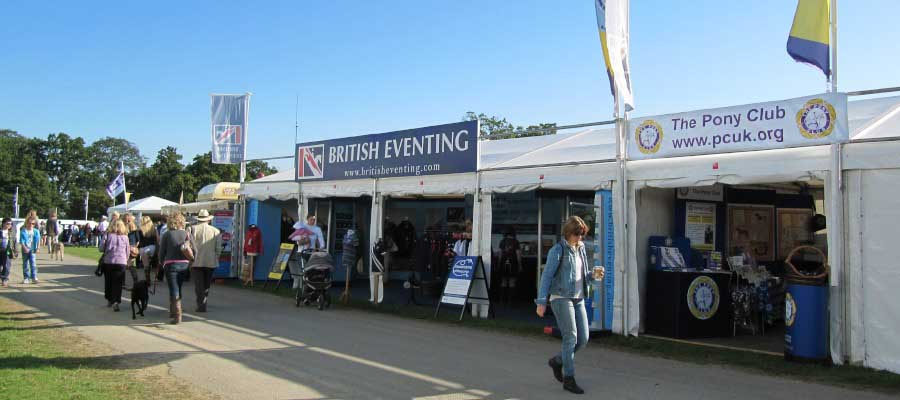 Horse Racing and Equestrian Retail Stall Marquee