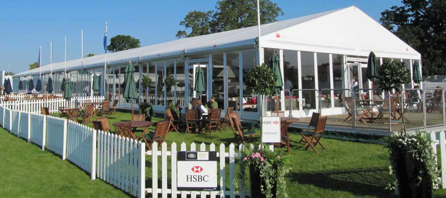 Horse Racing and Equestrian Temporary Hospitality Structure