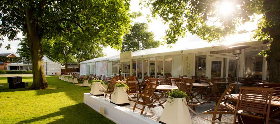 Horse Racing and Equestrian Temporary Hospitality Village