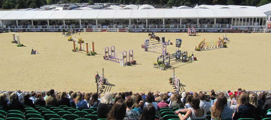 Horse Racing and Equestrian Temporary Structure Temporary Tiered Seating