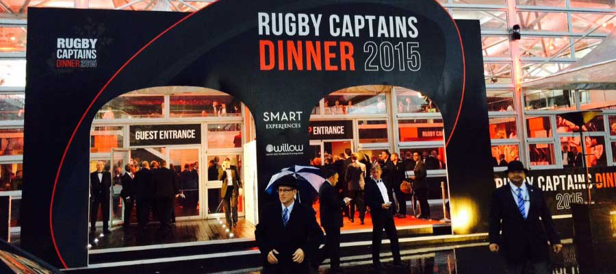 Rugby Party Hospitality Structure