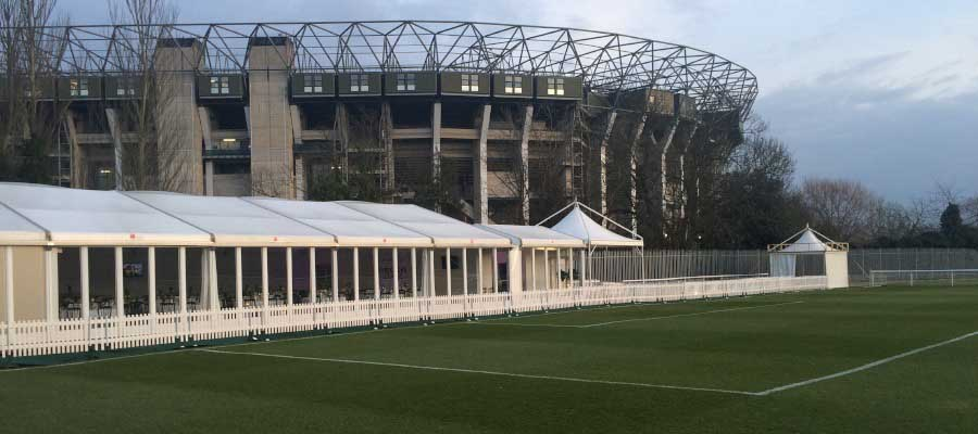 Rugby Temporary Structure Pagoda