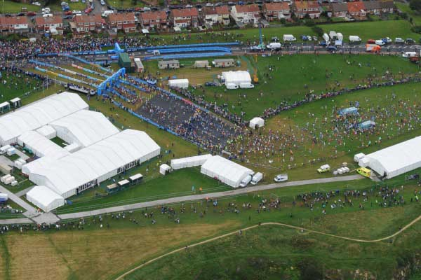 Great North Run Structures