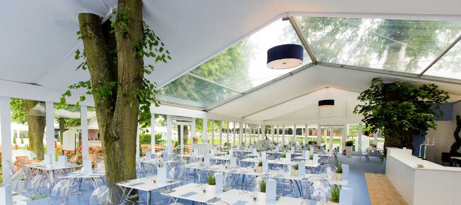 marquees clearview roof
