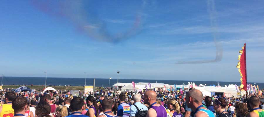 Great North Run Marquee