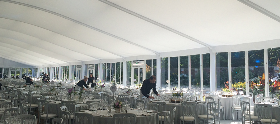 Hampton Court Palace Structures Marquees Seating Gl