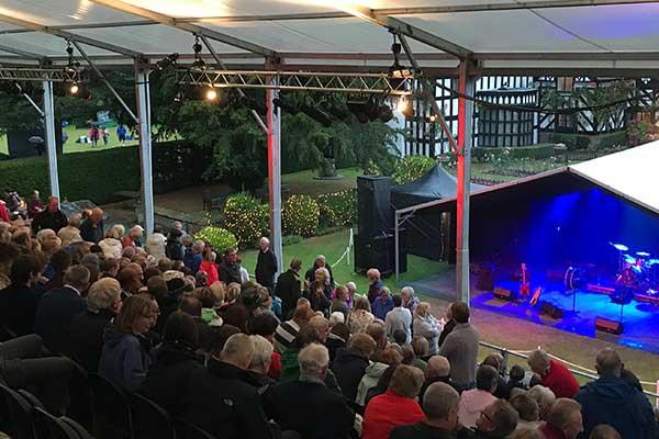 Gawsworth Hall Garden Theatre