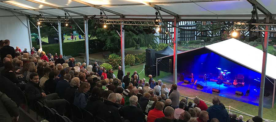 Gawsworth Hall Garden Theatre
