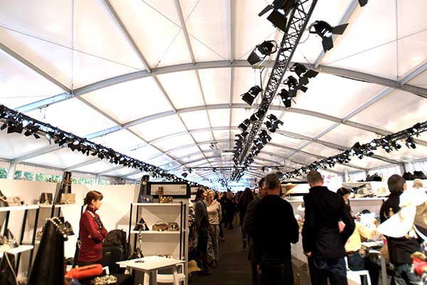 marquees for art and craft fairs