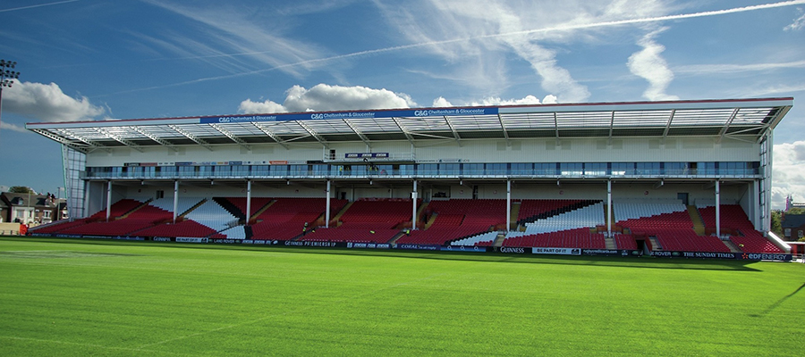 Gloucester Rugby Club South Stand