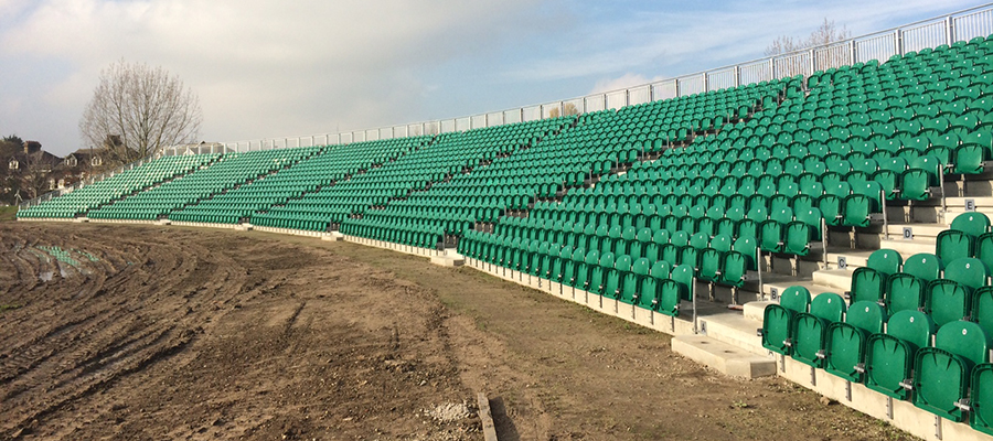 Kent County Cricket Club's stadium construction by GL events UK