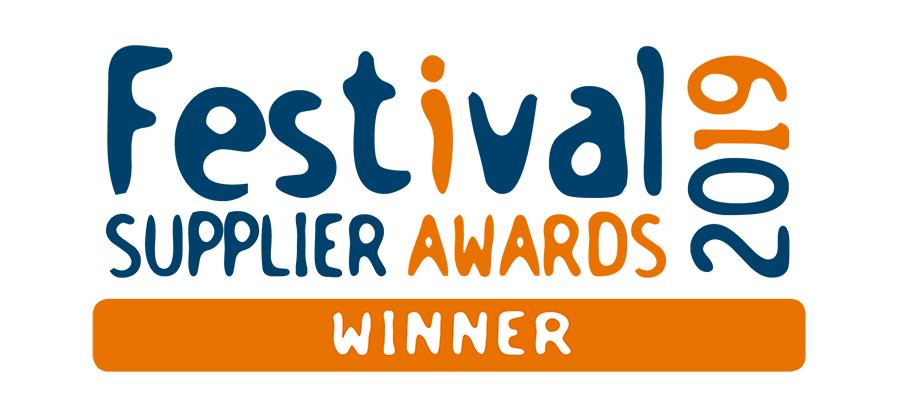 Festival Supplier Awards 2019 winner